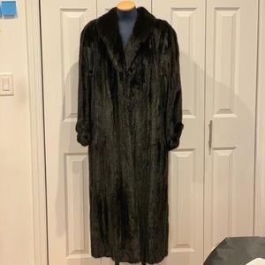 Mink Fur long coat